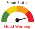 Flood Status Warning